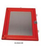Feldbuchrahmen; kunststoff, rot