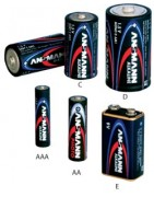 ANSMANN-Alkali Mangan Batterien
