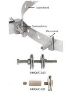 Spannband-Vermarkung f. Schleuderbeton-Masten