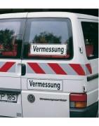 Fahrzeugmarkierungen nach DIN 30710, selbstklebend