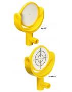 Reflex-Zielzeichen mit Kipphalter (Bireflex-Target
