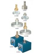 Adapter für Prismen und GPS-Antennen, magnetisch